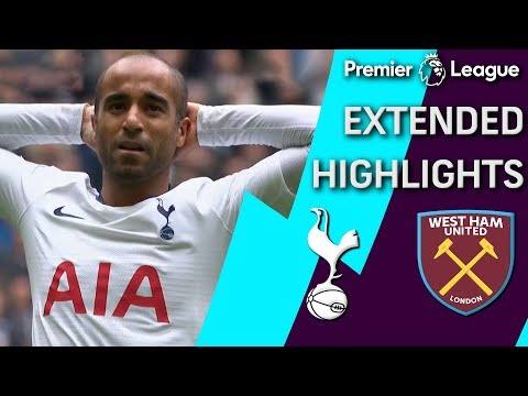West Ham v. Tottenham | PREMIER LEAGUE EXTENDED HIGHLIGHTS | 4/27/19 | NBC Sports