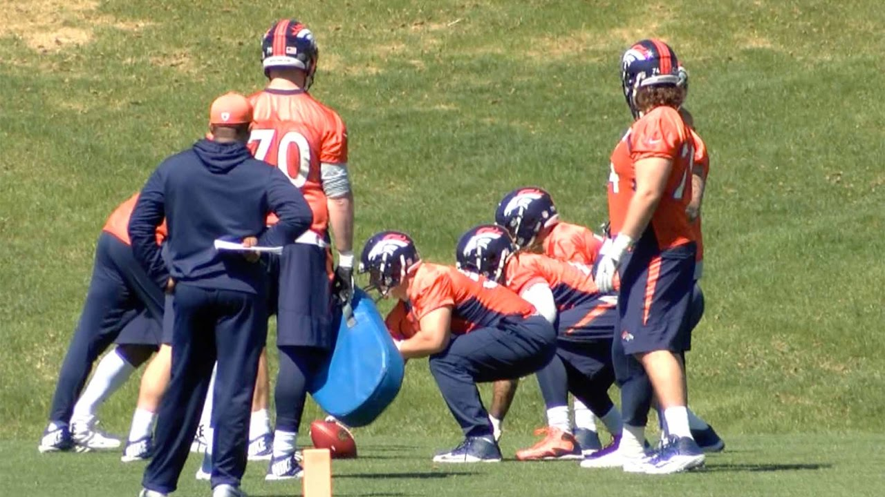 Denver Broncos guards expect offensive line to step up this season
