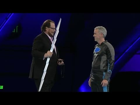 Dreamforce - Salesforce Chairman and CEO introduces Salesforce1 Lightning, a new set of development tools to help companies seamlessly customize and easily deploy new app...