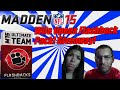 Wifey Opens Flashback Pack Giveaway! | Madden 15 Ultimate Team Pack Opening | Flashback Friday Ep. 4