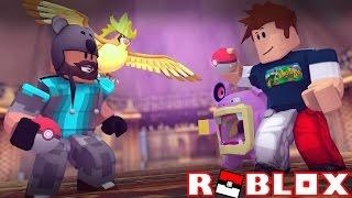 MEGA SHINY PIDGEOT + ALL SHINY BATTLE W/ THNXCYA!!!! | Pokémon Brick Bronze [#53] | ROBLOX