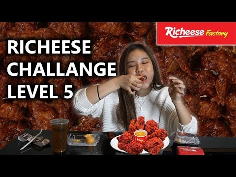 12PCS RICHEESE FIRE WING CHALLENGE LVL 5