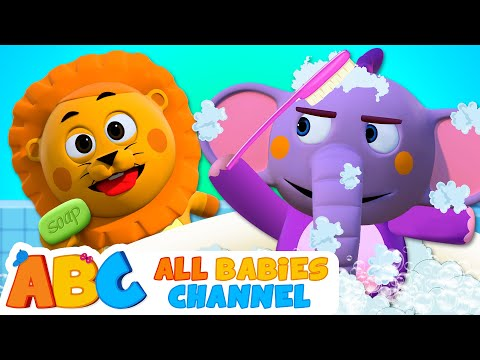 BATH SONG - Keep Us Clean | Original Song | 3D Nursery Rhymes And Baby Songs By All Babies Channel