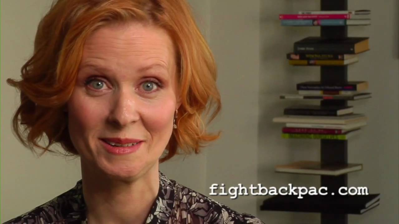 FIGHT BACK: A message from Cynthia Nixon