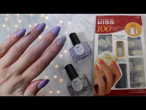 DIY Fake Nails | Kiss Full Cover Nails Active Oval Shape