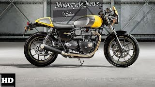 5. WOW AMAZING !!! 2018 Triumph Street Cup Everything You'd Expect From A Contemporary Caf Spec & Price
