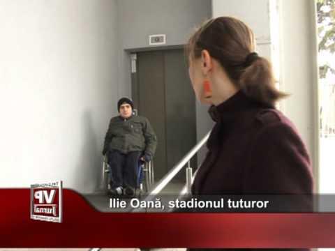 Ilie Oană, stadionul tuturor