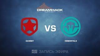 Gambit vs. Immortals - Dreamhack Austin - Final - map2 - de_inferno [yxo, Enkanis]