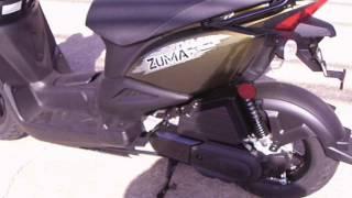 9. 2015 YAMAHA ZUMA 50 SCOOTER