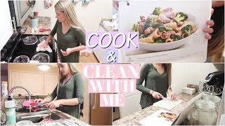 COOK WITH ME & CLEAN WITH ME 2018 | Cleaning Motivation