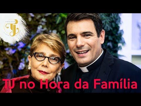 Programa Hora da Família com Padre Juarez Castro e participação do Projeto TJ