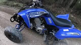 8. 2019 Yamaha raptor 700r and 2019 Yamaha 450 dirt bike