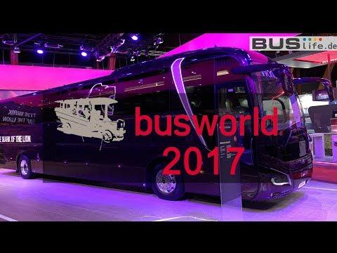 Busworld Kortrijk 2017 | 버스월드 벨기에