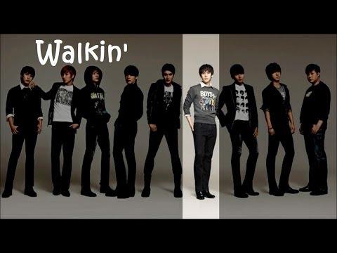 Super Junior - Walkin' (English Lyrics)