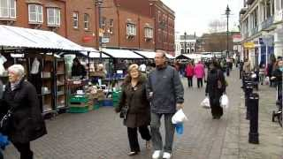 Walsall United Kingdom  city images : Shopping Centre and Market, Walsall.