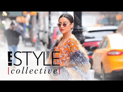 How to Wear Fall Florals Like a Celeb | E! Style Collective | E! News