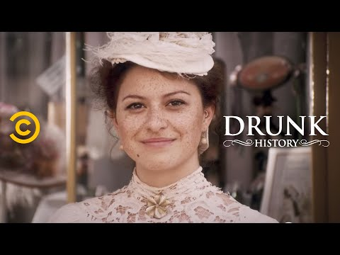 "Frances Cleveland Becomes an ""It"" Girl - Drunk History"