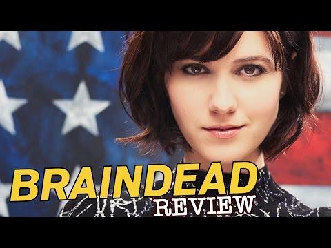 Elizabeth Winstead, Danny Pino, Tony Shalhoub in Braindead - TV Review