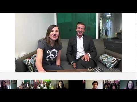 Image of Google+ David Beckham Hangout  - 19.01.2012 - (Google+ Hangouts)