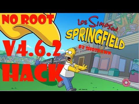 Los Simpsons Springfield After XMas Hack   Rosquillas Infinitas