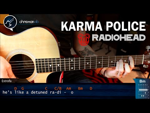 Karma Police Radiohead Acordes Christian Christian