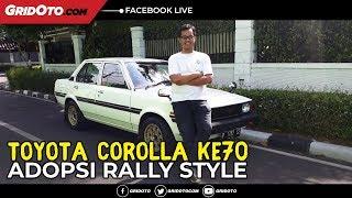 Video Anak Muda Main Retro Toyota Corolla KE70, Adopsi Rally Style MP3, 3GP, MP4, WEBM, AVI, FLV Februari 2019