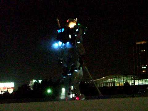 60 Foot Gundam Exhibit at Shizuoka City | Video