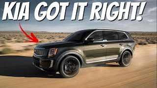 FIRE REVIEW! 2020 KIA Telluride - New LARGE SUV On The Block!