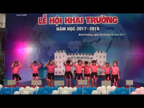 """Lễ Hội Khai Trường Năm học 2017-2018 """"Tiết mục múa Arobic"""""""