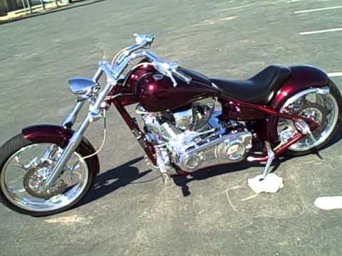 FOR SALE 2005 Big Dog Pitbull Pro Street Custom Chopper Motorcycle 5,211 Miles $12,999!