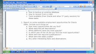 Oracle Database - Lecture 8
