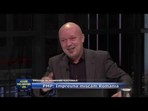 Emisiunea Alegeri Parlamentare 2016 – 21 noiembrie 2016 – PMP