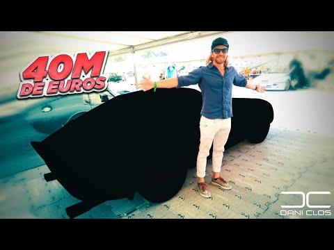 El coche de 40 MILLONES €€€ y LOS HISTÓRICOS de GoodWood  Dani Clos