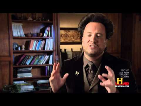 0 Ancient Aliens & GiorgioTsoukalos Spoof Video Promoting The Gates Soundtrack
