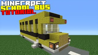 Minecraft Tutorial: How To Make A School Bus