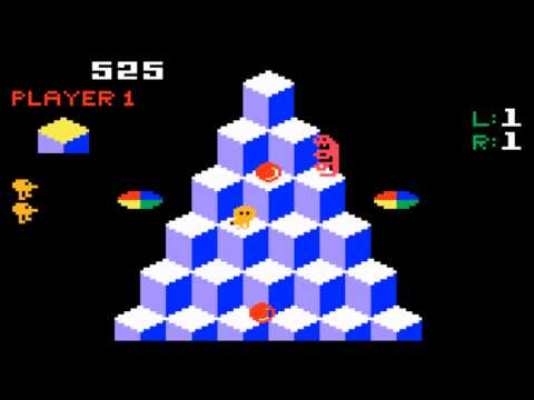 Q*Bert for the Mattel Intellivision