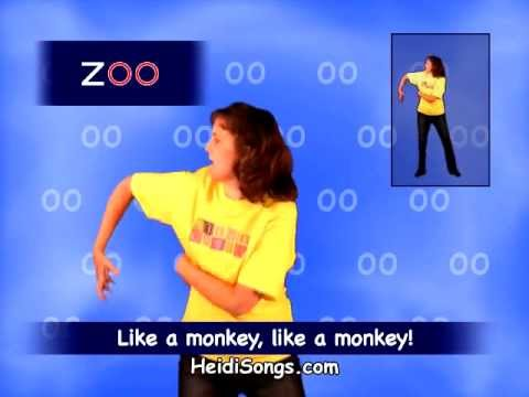 Phonics song - Sounds Fun 'Oo' Monkey