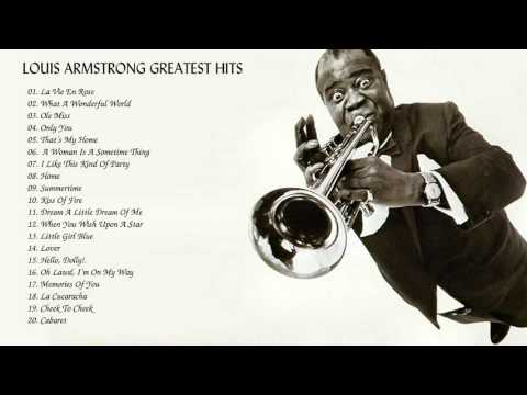 Video Louis Armstrong Greatest Hist || Louis Armstrong  Collection HQ/MP3 download in MP3, 3GP, MP4, WEBM, AVI, FLV January 2017
