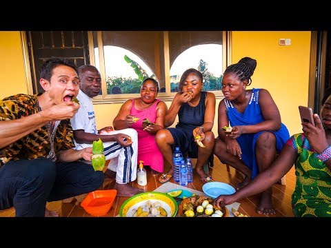 Unforgettable Meal - ASHANTI FOOD in Kumasi, Ghana | Ultimate West African Food Tour!