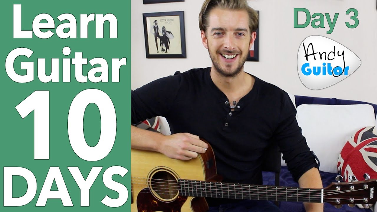 Guitar Lesson 3 – 'Three Little Birds' Guitar Tutorial [10 Day Guitar Starter Course]