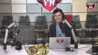 Александр Софронов выигрывает фрисби от Спорт FM в свой День рождения