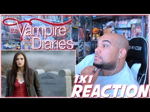 "The Vampire Diaries Reaction Season 1 Episode 1 ""Pilot"" 1x1 REACTION!!!"