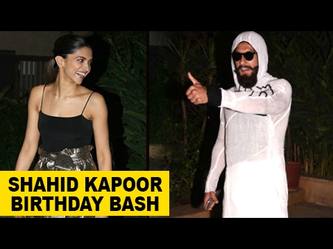 Deepika Padukone & Ranveer Singh Have Fun At Shahi
