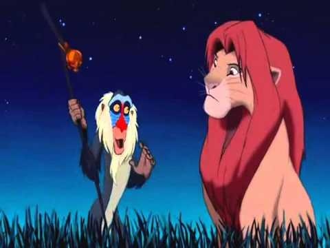 O Rei Leão   Não interessa! Está no passado!
