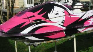 7. Danya's pink superjet time lapse