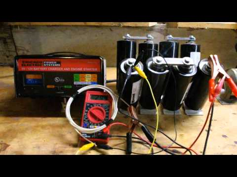 supercapacitor - How to charge a super capacitor.