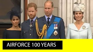 Video The Centenary of the Royal Air Force The Fly Past over Buckingham Palace MP3, 3GP, MP4, WEBM, AVI, FLV Oktober 2018