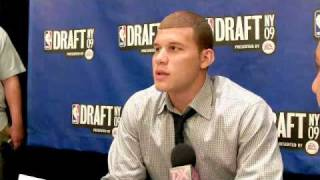 Blake Griffin - 2009 NBA Draft Media Day Interview