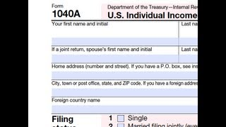 How to Extend Form 1040A