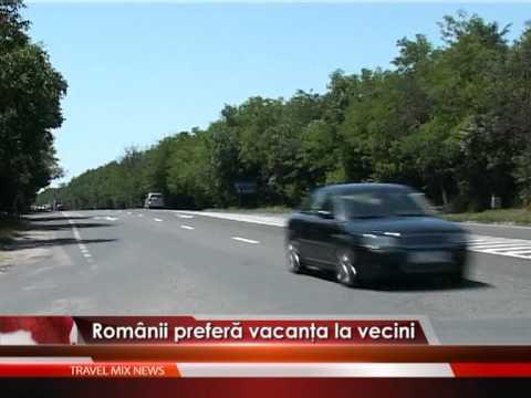 Românii preferă vacanţele la vecini – VIDEO
